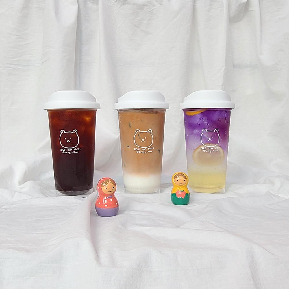 브링클린 곰곰이 리유저블컵, 트라이탄컵