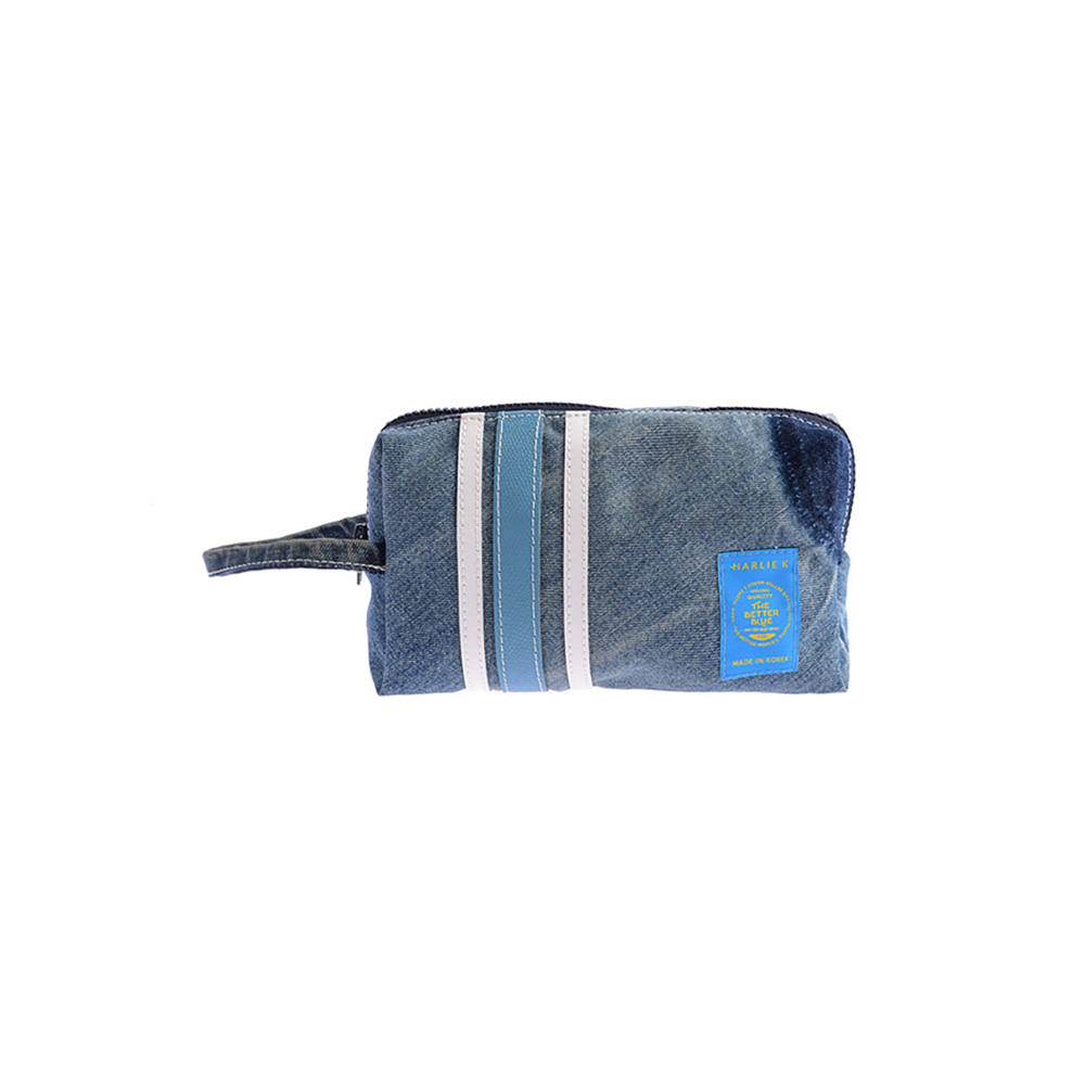 할리케이 Denim Pouch(Blue)
