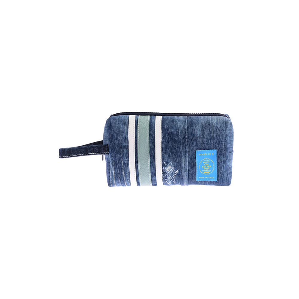 할리케이 Denim Pouch(Sky-blue)